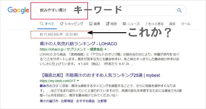 キーワード検索